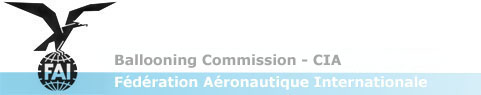 FAI Ballooning Commission - CIA